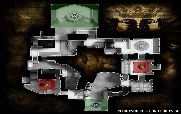 новенькой карты de_crown